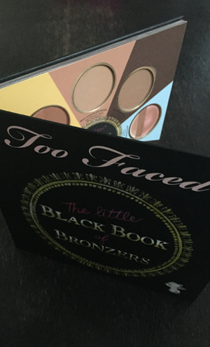 """Bronzers are a year-round makeup must-have! Change your bronzer as often as you change your shoes and handbag. It's the beauty accessory that's a style necessity."" Too Faced The Little Black Book of Bronzers The Little Black Book of Bronzers Untitled 333"