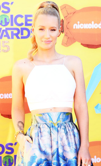 Iggy Azalea  Makeup looks de los Teen Choice Awards 2015 tca5