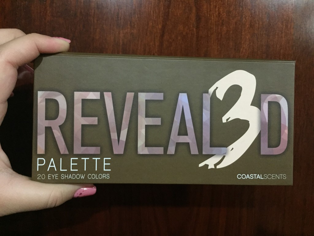 reveal3d1  Paleta Revealed 3 de Coastal Scents reveal3d1