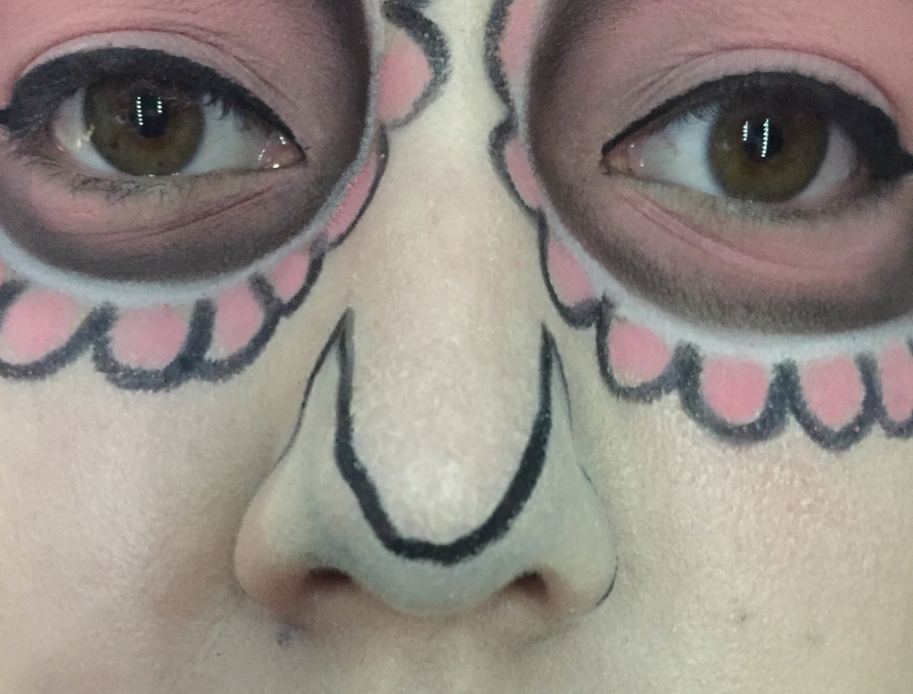 sugars10  Sugar Skull Halloween Makeup Tutorial sugars10