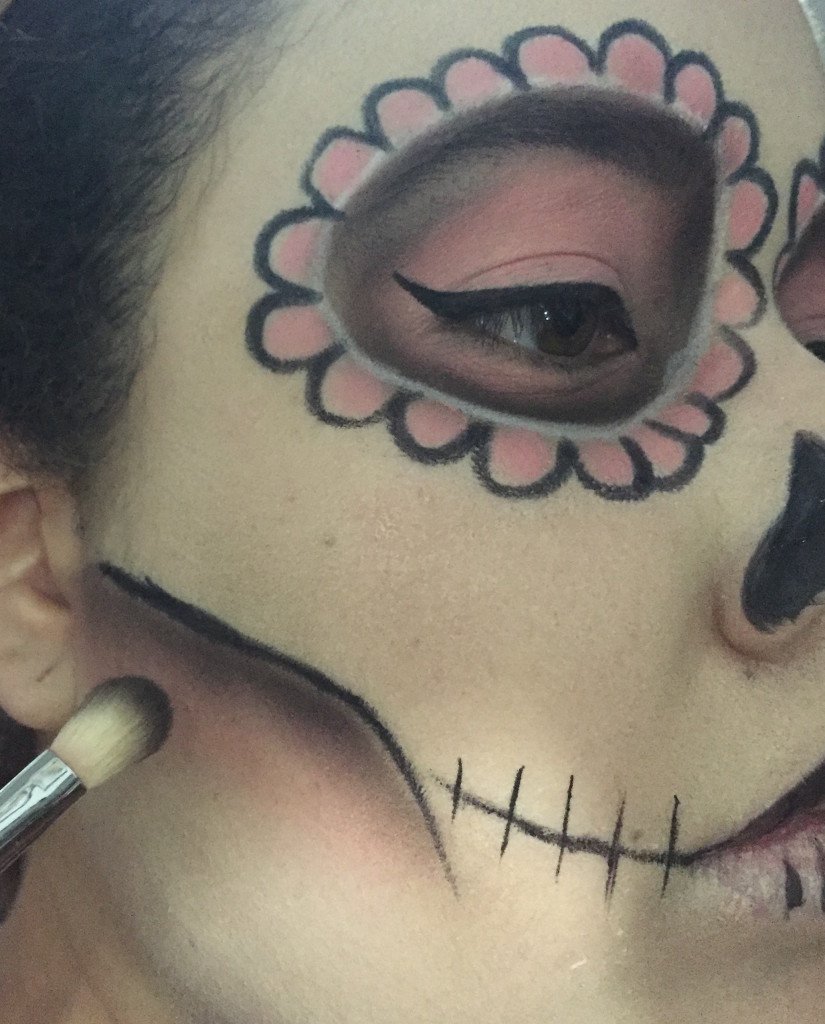 sugars13-2  Sugar Skull Halloween Makeup Tutorial sugars13 2