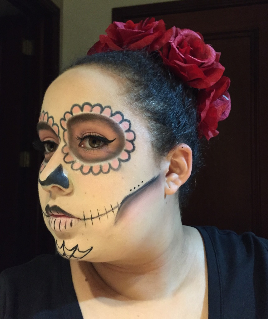 sugars15  Sugar Skull Halloween Makeup Tutorial sugars15